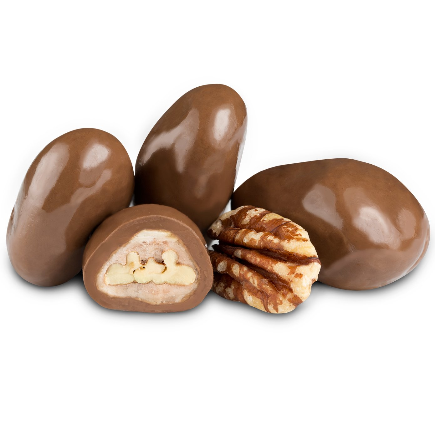 Milk Chocolate Toffee Pecans | All Chocolate | Chocolate | Albanese ...