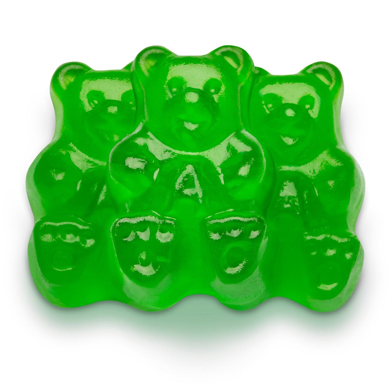Green Apple Gummi Bears All Gummies Gummies Albanese