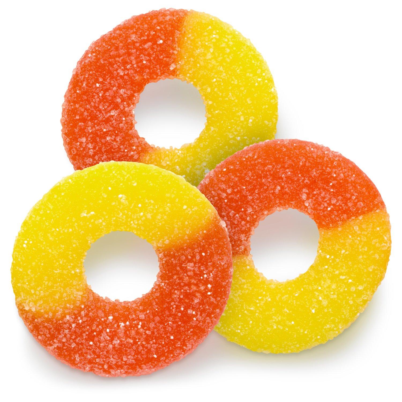 Gummi Peach Rings All Gummies Gummies Albanese