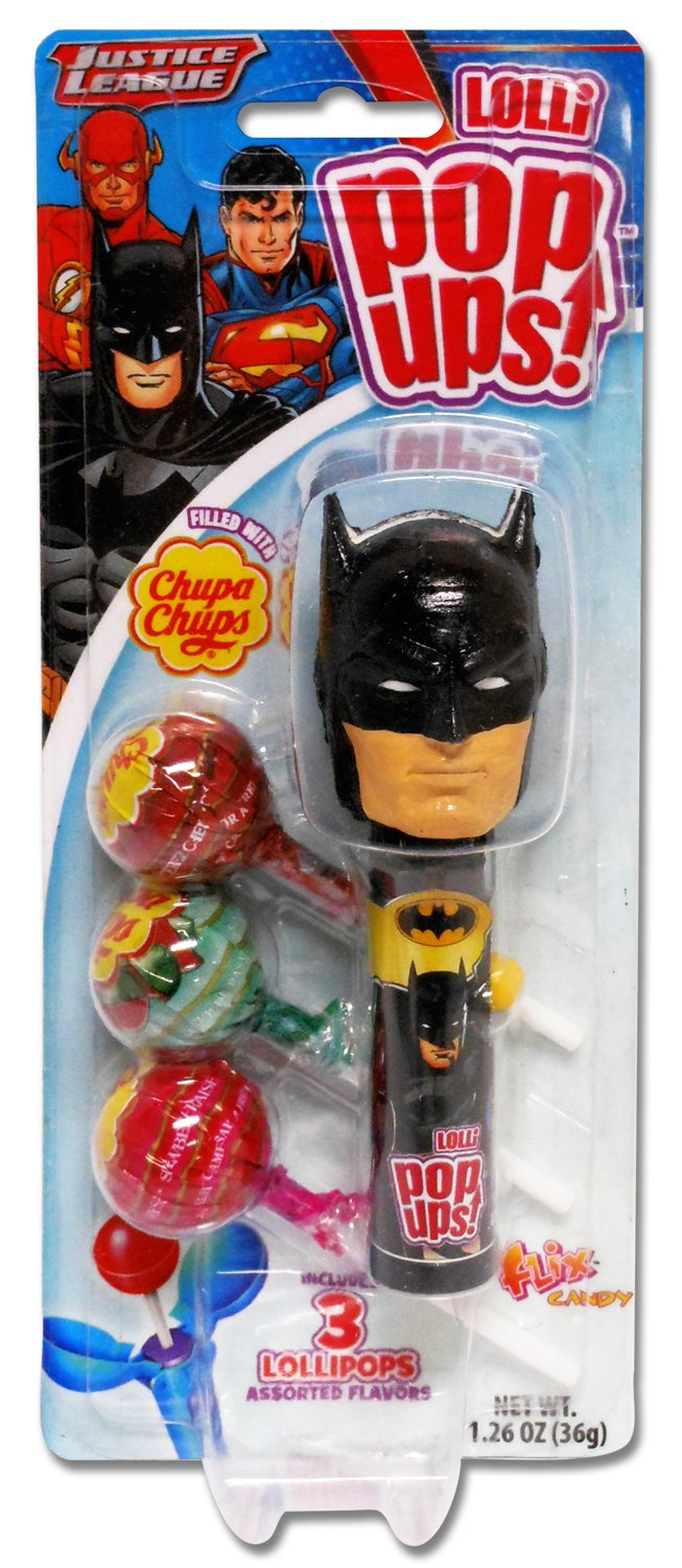 Pop Ups Justice League All Distributed Items