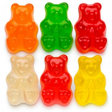 Assorted Fruit Gummi Bears