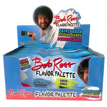 Bob Ross® Flavor Palette Dipping Candy