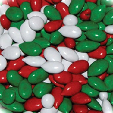 Sunbursts® Christmas Mix, Chocolate Covered Sunflower Seeds