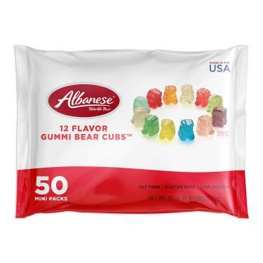 Everyday Multipack 6 Count 12 Flavor Gummi Bear Cubs™