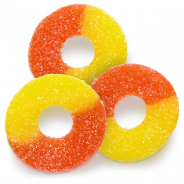 Gummi Peach Rings