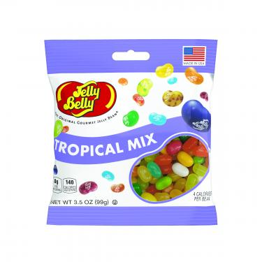 Jelly Belly® Tropical Mix 3.5oz Grab & Go Bags