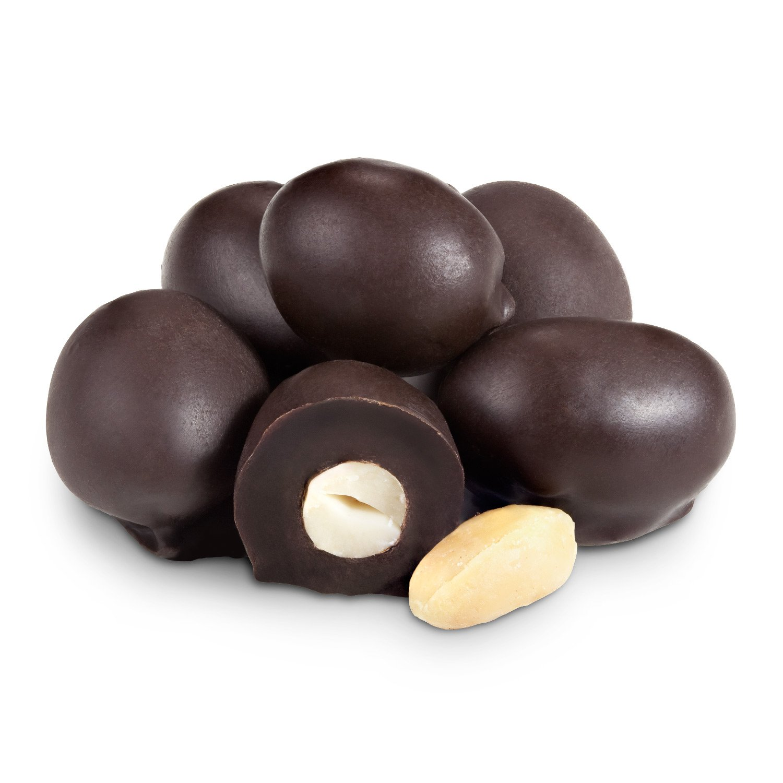 Dark Chocolate Double Dipped Peanuts Bulk Unwrapped
