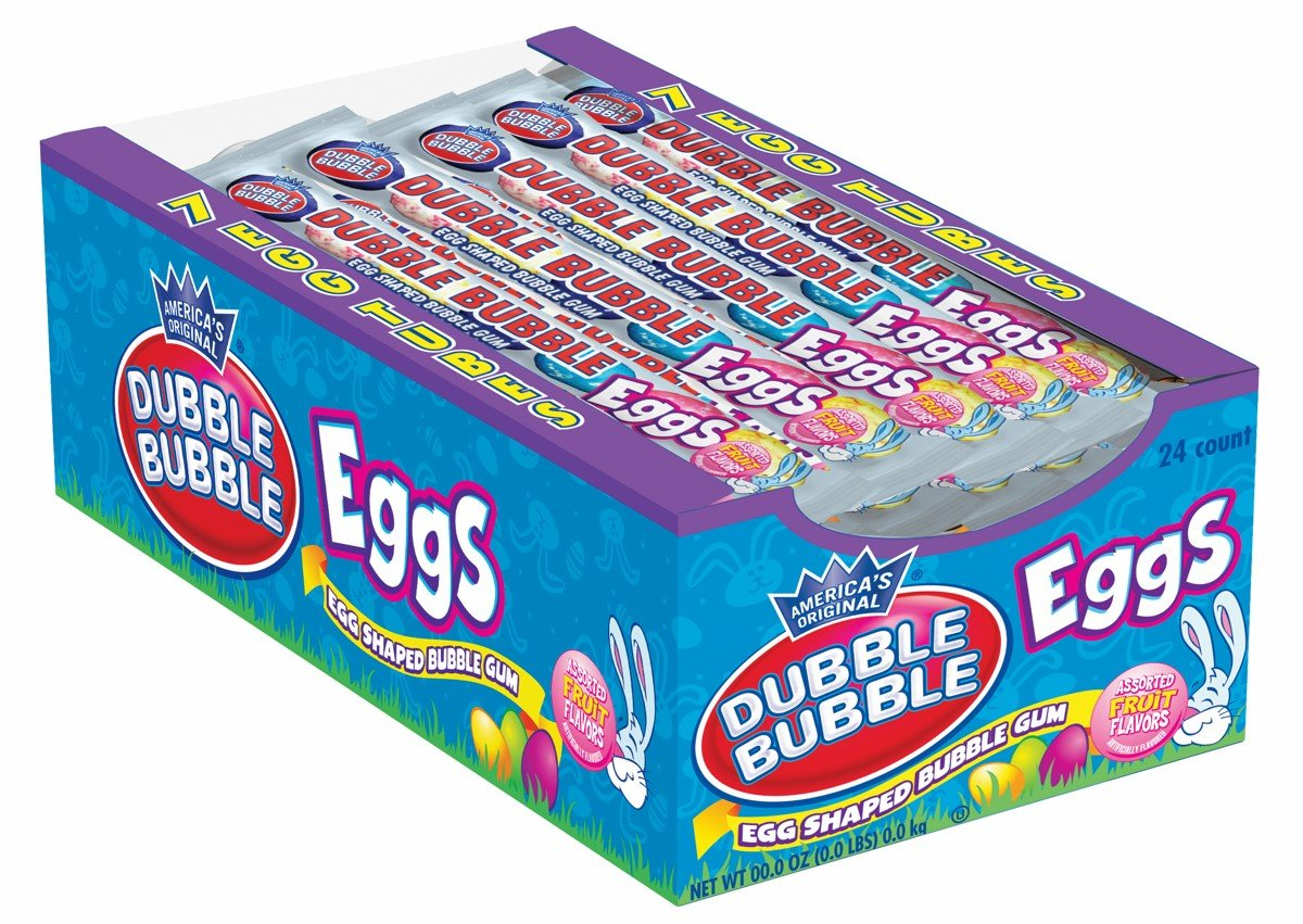 Dubble Bubble Gum Eggs Candy Store Albanese Confectionery