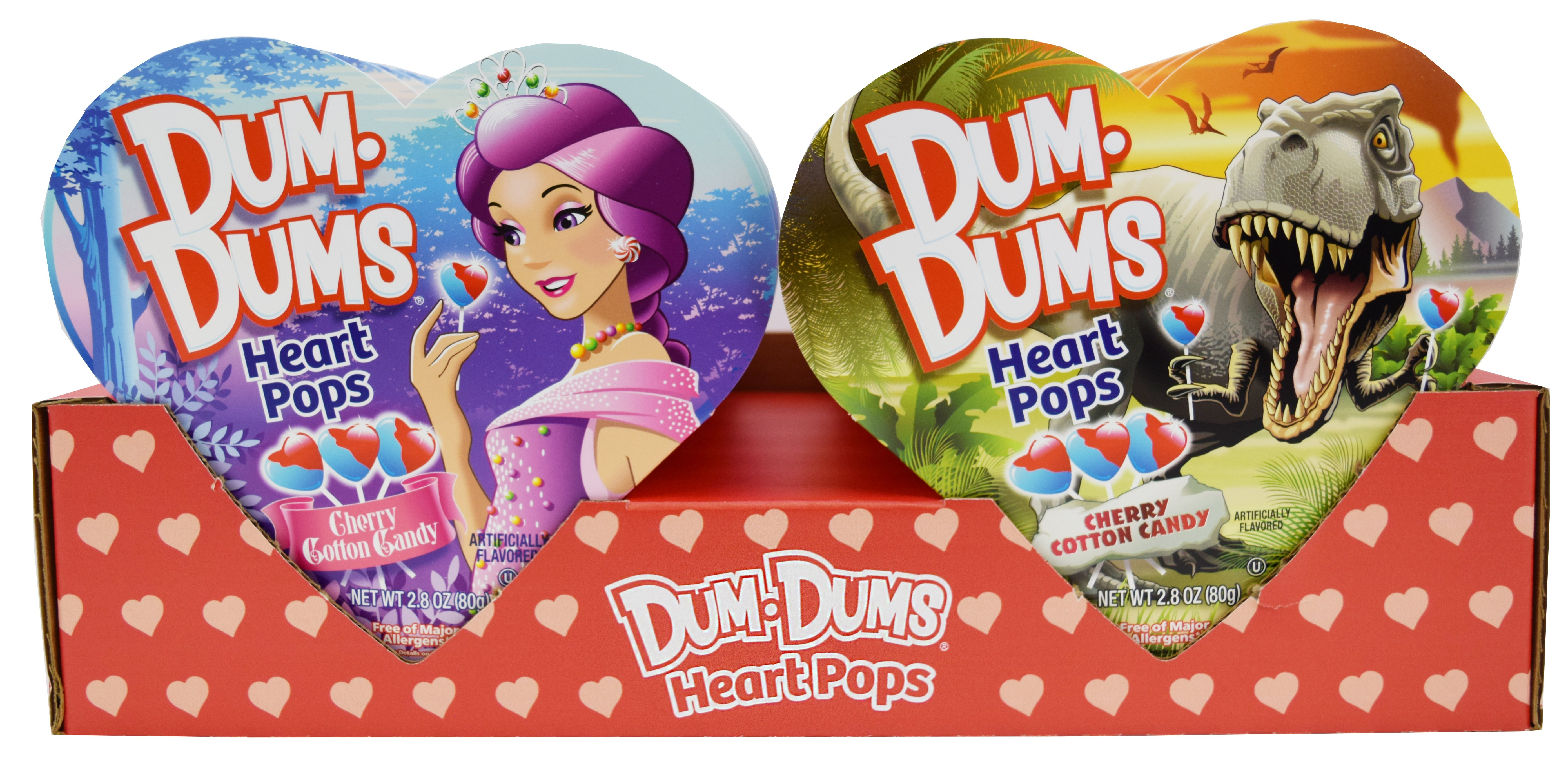 Dum Dums Heart Pops Gift Box 2 8oz Candy Store
