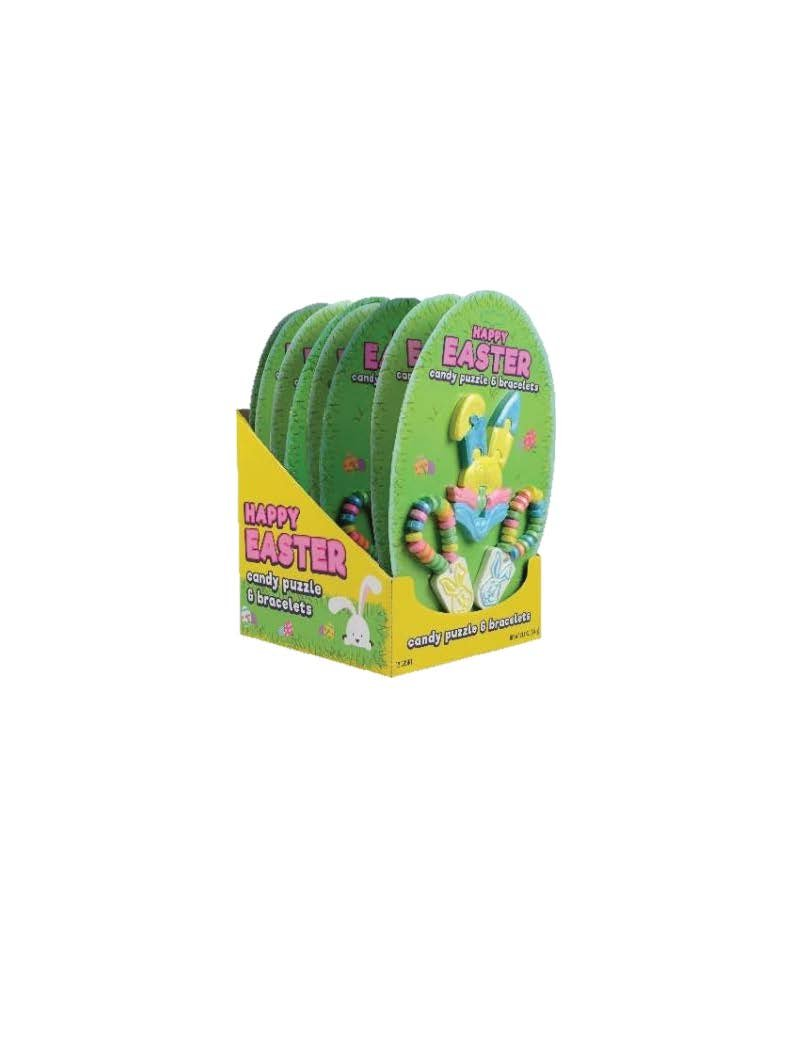 Happy Easter Candy Puzzle Amp Bracelets 2 01oz Candy