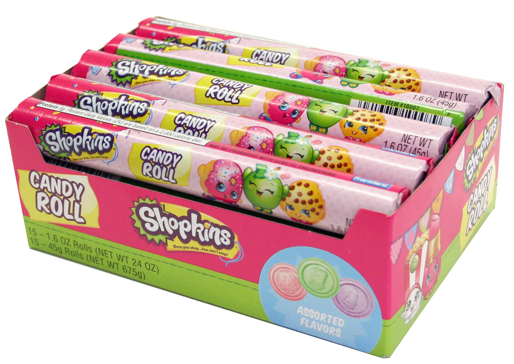 Shopkins Candy Roll All Distributed Items Distributed