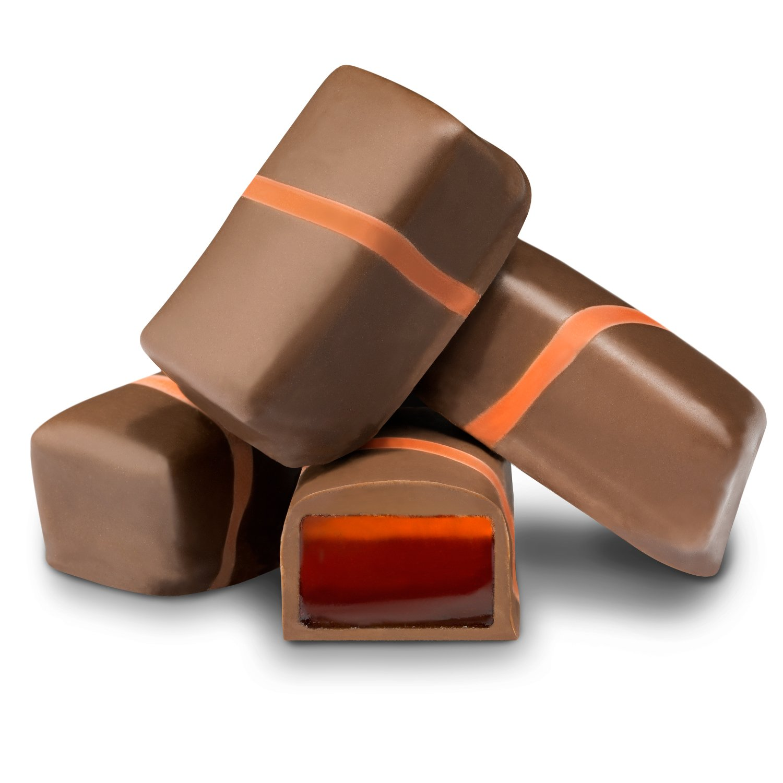 Sugar Free Milk Chocolate Orange Jellies   All Chocolate ...