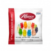 12 Flavor Gummi Bears®  1oz Bag