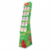 Christmas Gummi Peg Bag Shipper 60 Count