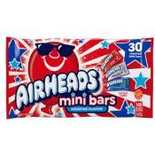 Airheads Mini Bars Red White & Blue Bag, 12oz