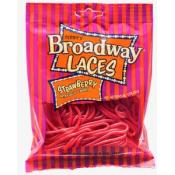 Broadway Strawberry Laces 4oz bag