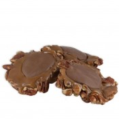 Milk Chocolate Jumbo Naked Pecan Patties