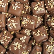 Milk Chocolate Toffee with Almonds