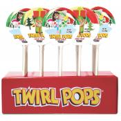 Christmas Twirl Pops, 1oz