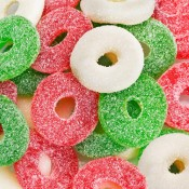 Christmas Gummi Wreaths