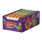 Cry Baby Nitro Sour Bubble Gum, 9 Ball Tube
