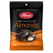 Dark Chocolate Almonds 3oz Peg Bag