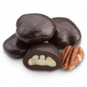 Dark Chocolate Grand Marnier Pecans