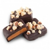 Dark Chocolate Toffee with Almonds