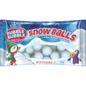 Dubble Bubble Snowball Gumballs 2.32 oz