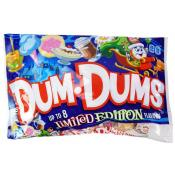 Dum Dums Holiday Limited Edition 10.4oz Bags DRC
