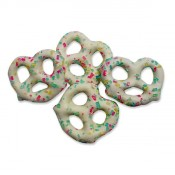 Easter Pretzels with Sprinkles