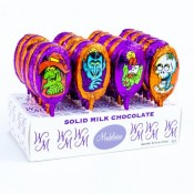 Foiled Milk Chocolate  Monster Pops