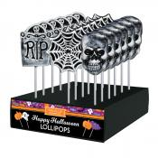 Frosted Halloween Assorted Lollipops