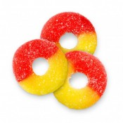 Gummi Strawberry-Banana Rings