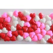 Happy Hearts Dextrose- Pink, Red & White