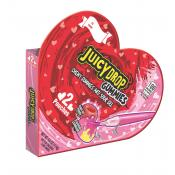 Juicy Drop Gummies Valentine Heart Shaped Box, 4oz