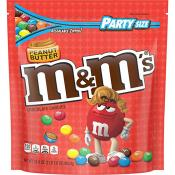 M&M Peanut Butter Party Bag, 34oz