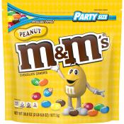 M&M Peanut Party Bag, 38oz