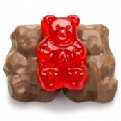 Milk Chocolate Cinnamon Gummi Bears