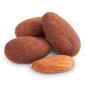 Milk Chocolate Cocoa Dusted Almonds