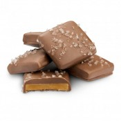 Milk Chocolate English Toffee with Sea Salt