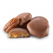 Milk Chocolate Mini Pecan Caramel Patties .5oz