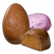 Milk Chocolate Peanut Butter Foiled Mini Egg