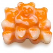Orange Cream Gummi Bearsicles