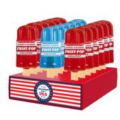 Patriotic Fruit Pop Duo Red & Blue Lollipops, 1.3oz