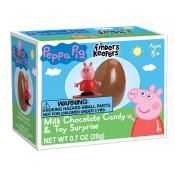 Finders Keepers™ Milk Chocolate Peppa Pig Toy Surprise