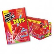 Pop Rocks Strawberry Sour Dips