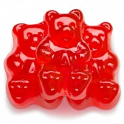 Red Hot Cinnamon Gummi Bears