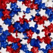 Red, White, & Blue Mixed Stars