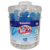 Rock Candy on a Stick Tub Blue/ Blue Raspberry Flavor